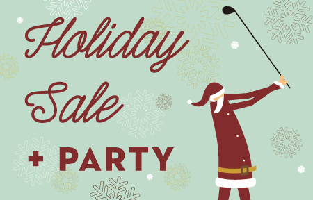 St. Mark Golf Holiday Sale and Party